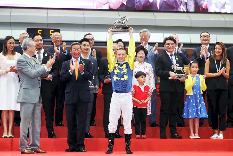 HONG KONG: Purton seals second champion jockey title at exciting season finale