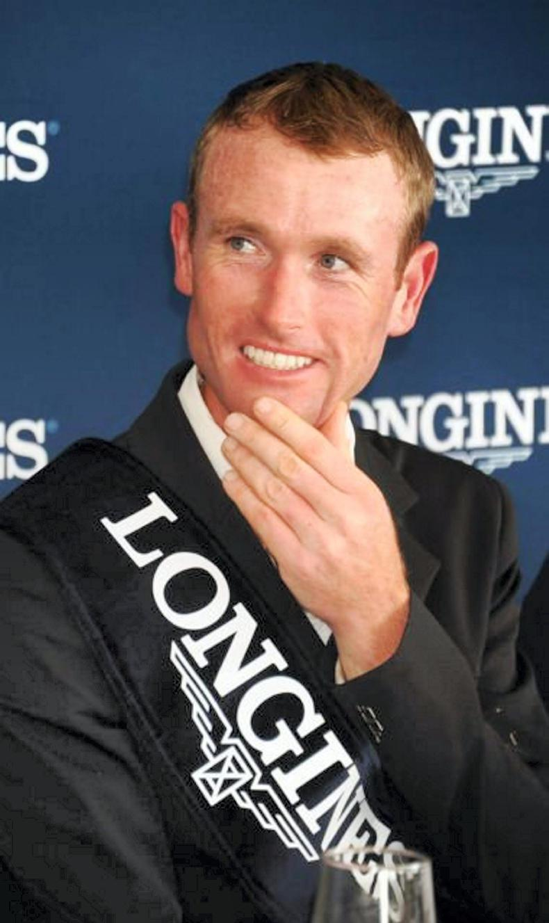 INTERNATIONAL: Tryon double for Richie Moloney
