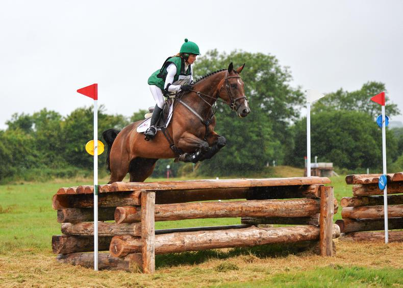 EVENTING:  Ennis and Khaleesi head the field