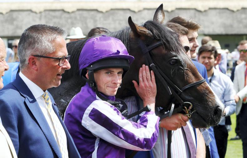 BRITAIN: U S Navy flies Flag for Ballydoyle