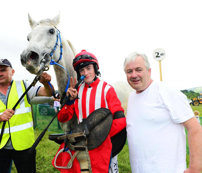 PONY RACING: Gilligan gets his first winner