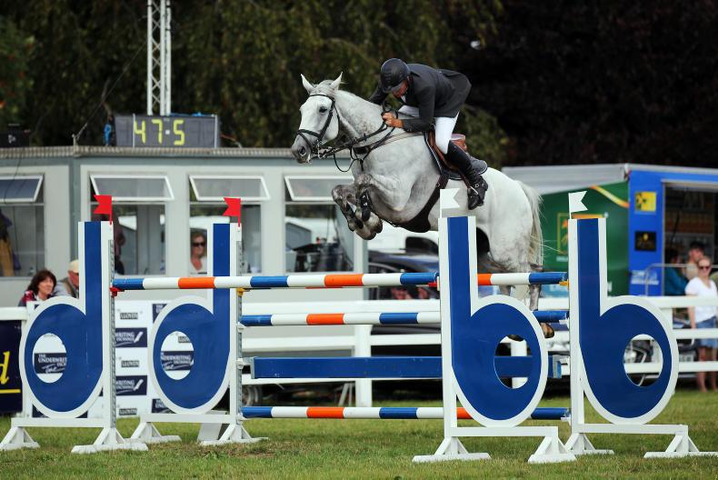 TATTERSALLS IRELAND JULY SHOW:  Double Grand Prix wins for Lennon