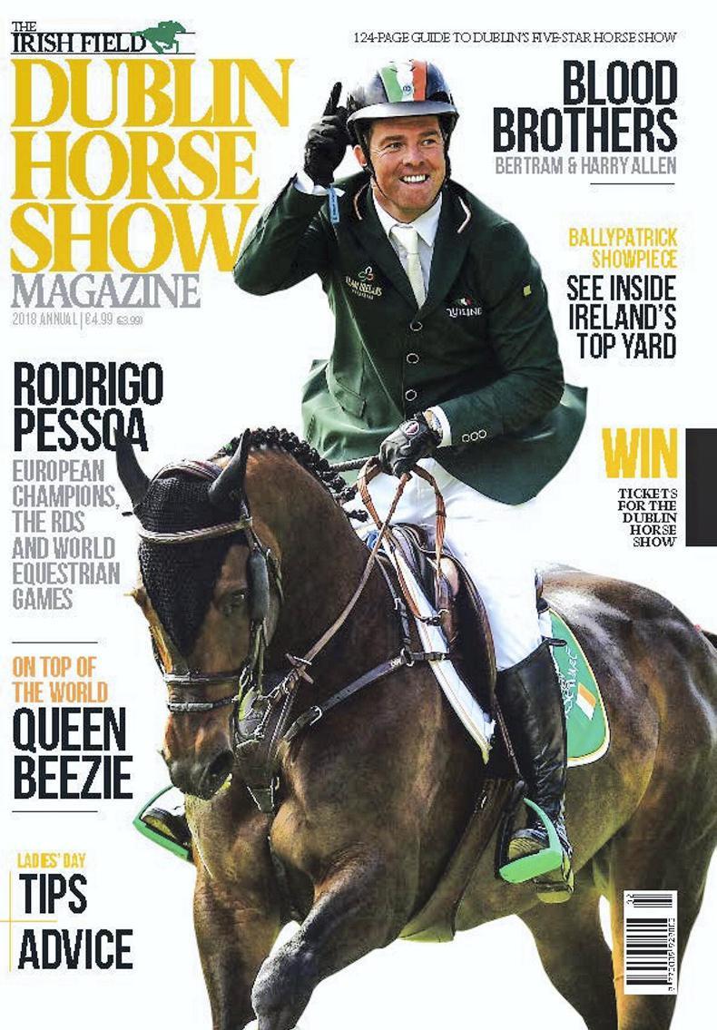 NEWS: Dublin Horse Show Magazine on sale!