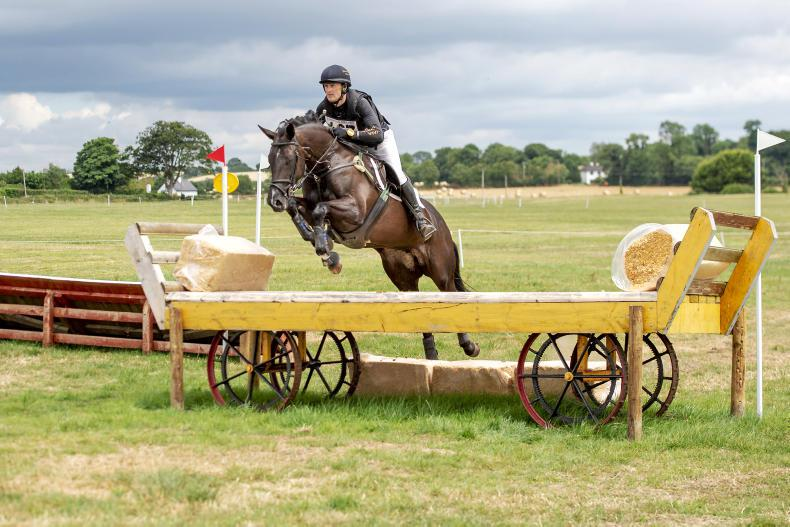 EVENTING:  Arkan Babe rewards McNally with win