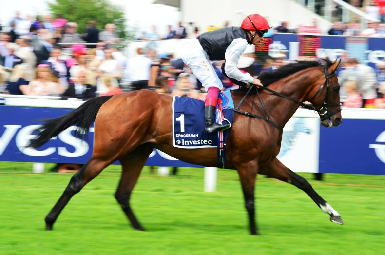 DONN MCCLEAN: It's all about the ground for Cracksman