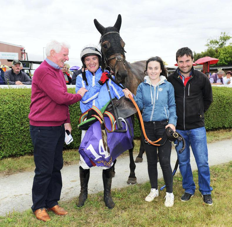 WEXFORD FRIDAY: Robin did the business