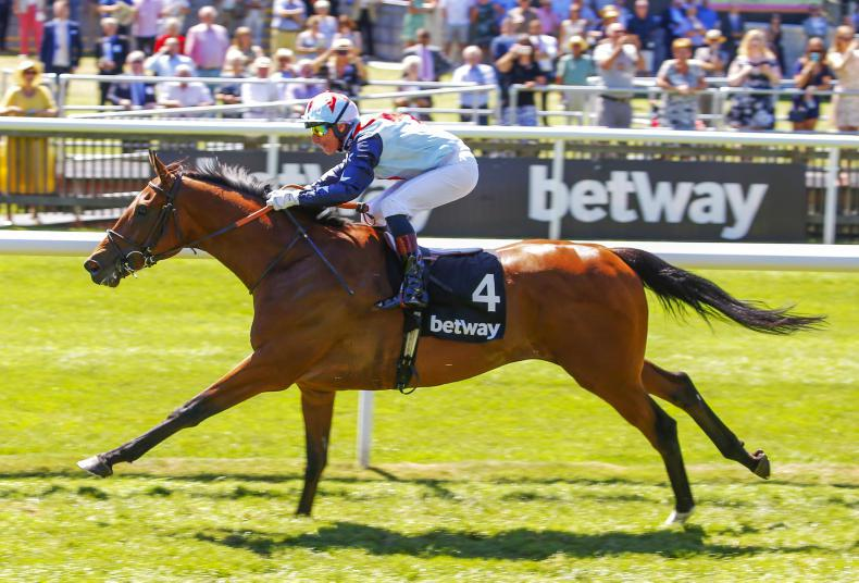 Sir Dancealot lunges late to take thrilling Lennox Stakes