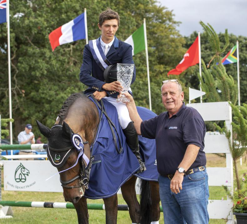 EVENTING:  Daniels comes out on top in thriller