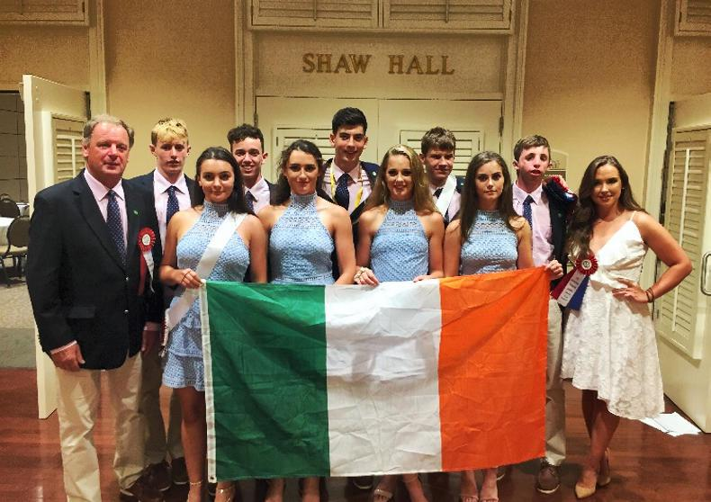 IRISH PONY CLUB:   Flying the flag in the USA