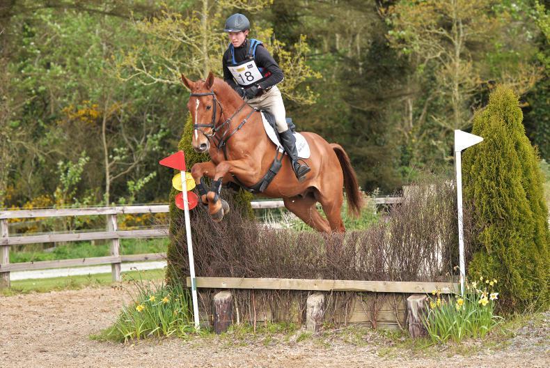 DUBLIN HORSE SHOW 2018:  Rising eventing stars forward