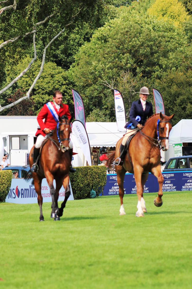 INTERNATIONAL: Irish-bred horses to the fore in Hickstead