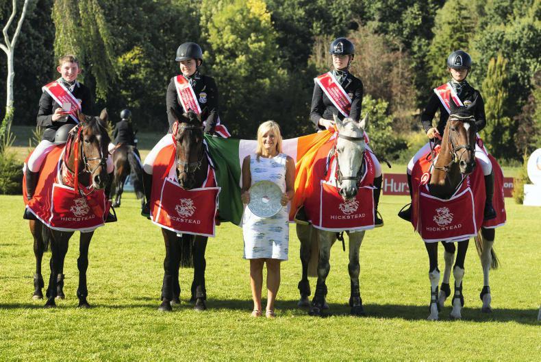 INTERNATIONAL: Third time lucky for Newbridge College