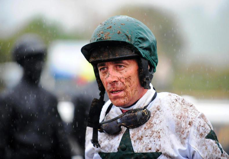 Davy Russell taken to hospital following Roscommon fall