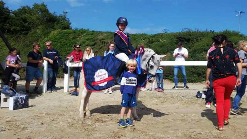 PONY TALES:  No stopping Alice and McKay!