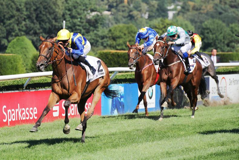 GERMANY: Vermeille on the agenda after Well Timed run