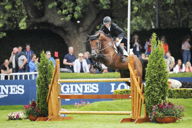 DUBLIN HORSE SHOW: Breen claims Speed Derby in style