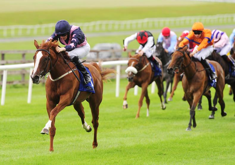 CURRAGH MONDAY : Liv breaks maiden in style
