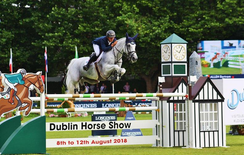 Fifth for Bertram Allen and Molly Malone in Longines Grand Prix of Ireland