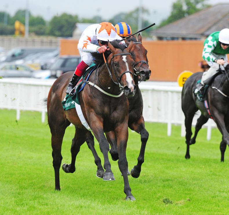 CURRAGH SUNDAY: Advertise lives up to promise
