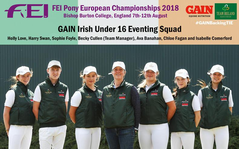 European under 16 team silver for Ireland and individual silver for Sophie Foyle