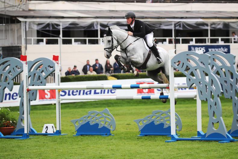 DUBLIN HORSE SHOW 2018:  Temple Alice delivers for Moloney