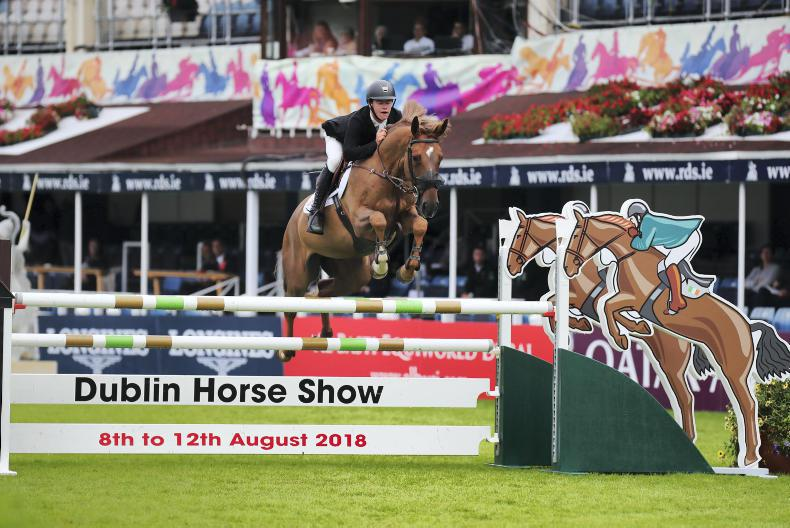 DUBLIN HORSE SHOW 2018:   New frontiers for Pender and MHS New York
