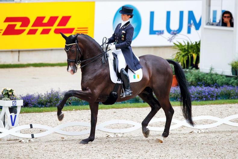 INTERNATIONAL: Judy Reynolds second in Cappeln