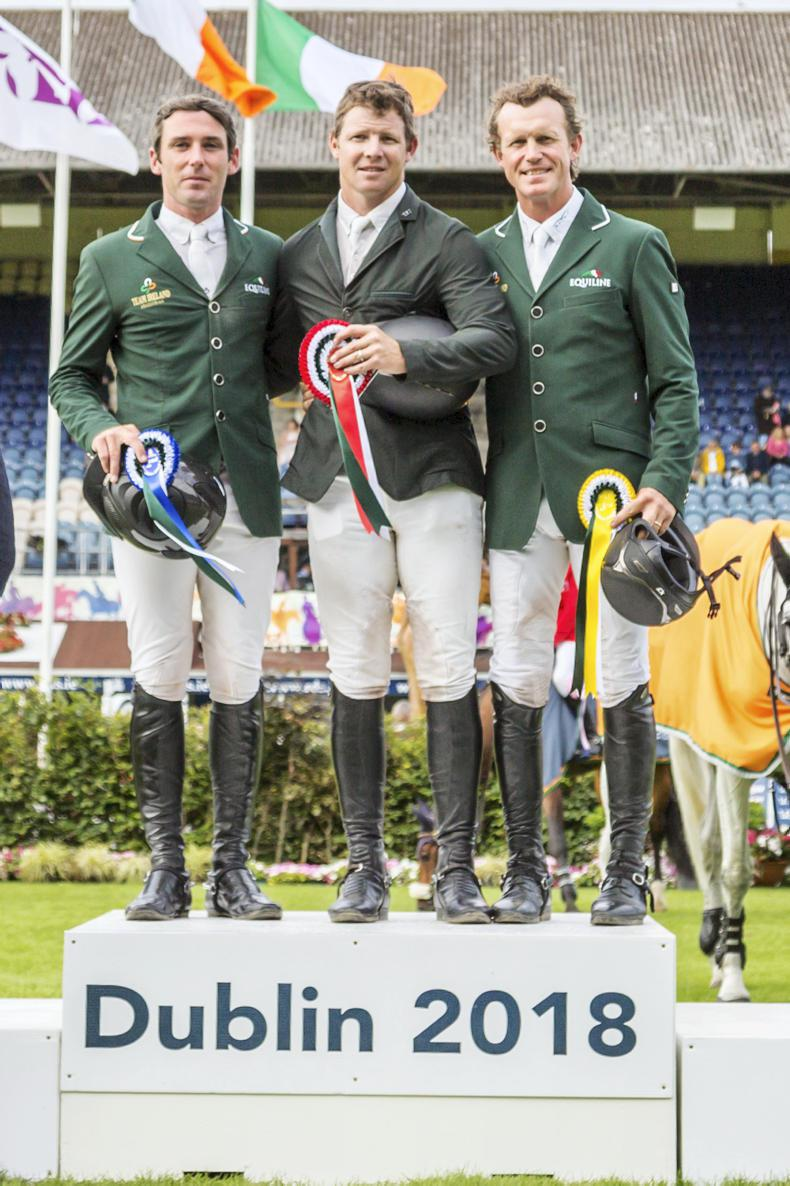 DUBLIN HORSE SHOW 2018: Sweetnam lays down the marker