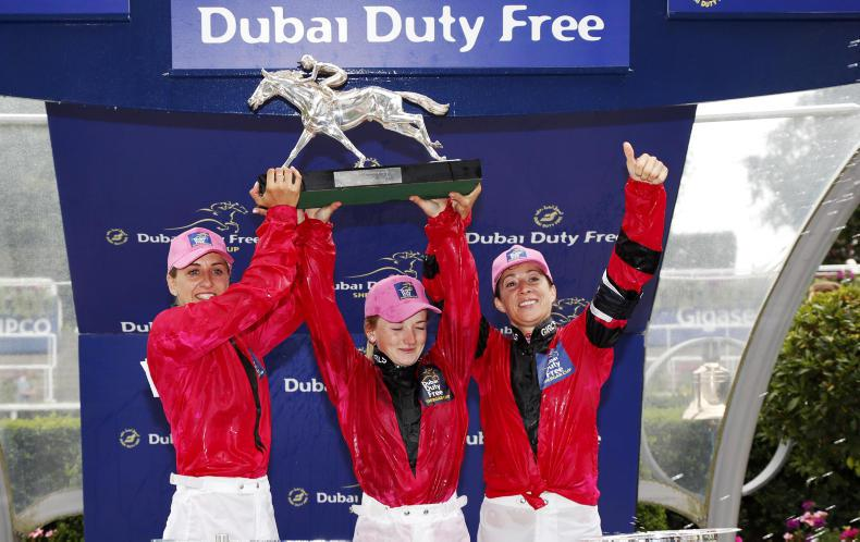 BRITAIN: Turner the star as girls lift Shergar Cup