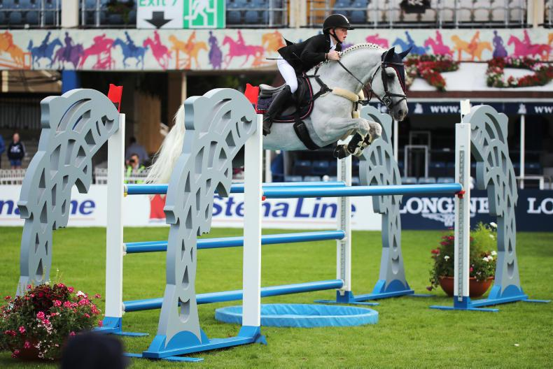 DUBLIN HORSE SHOW 2018: Foley crowned leading pony rider