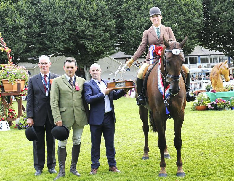 DUBLIN HORSE SHOW 2018:  First Rate victory for Lyons