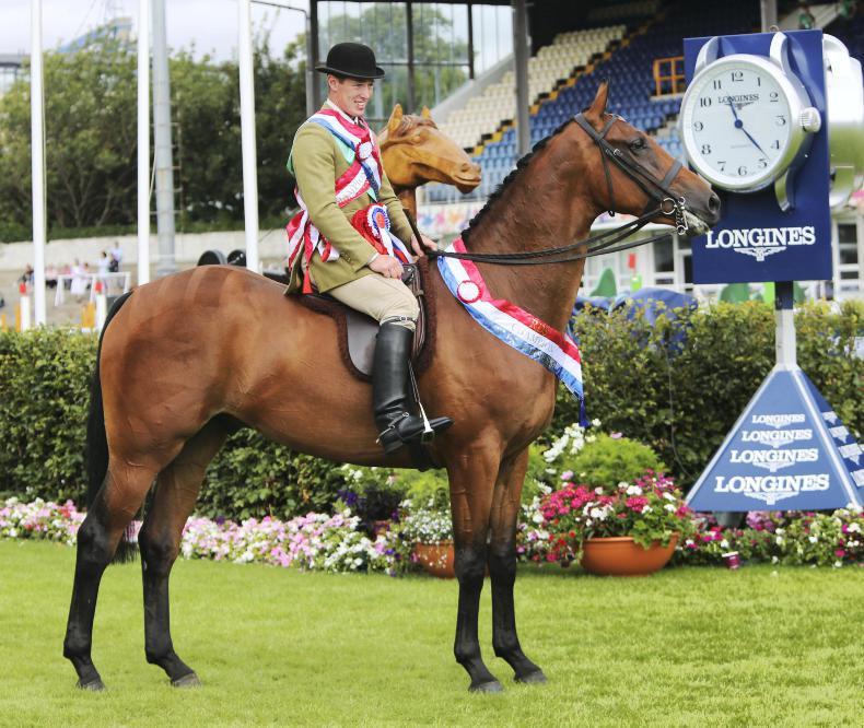 DUBLIN HORSE SHOW 2018:  Casey scores with Somerville