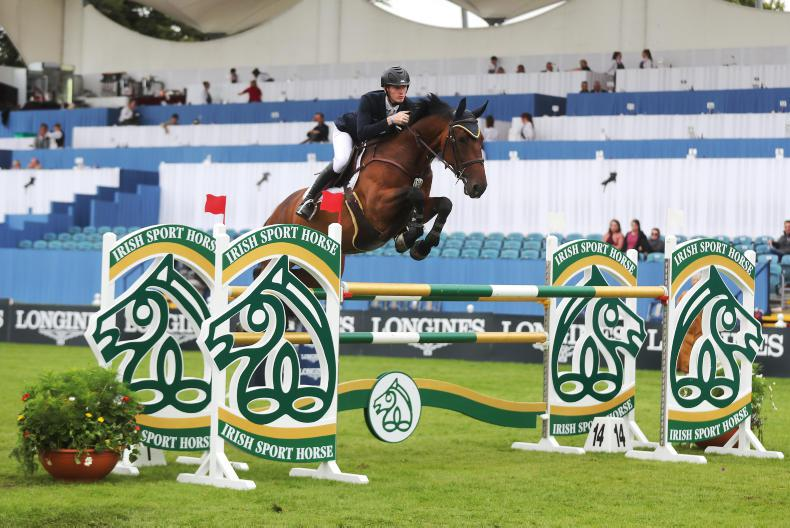 DUBLIN HORSE SHOW 2018:  Coyle and Legacy snatch victory