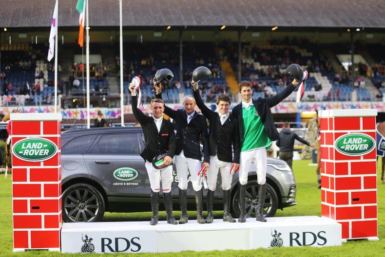 DUBLIN HORSE SHOW 2018: Quartet share Land Rover Puissance