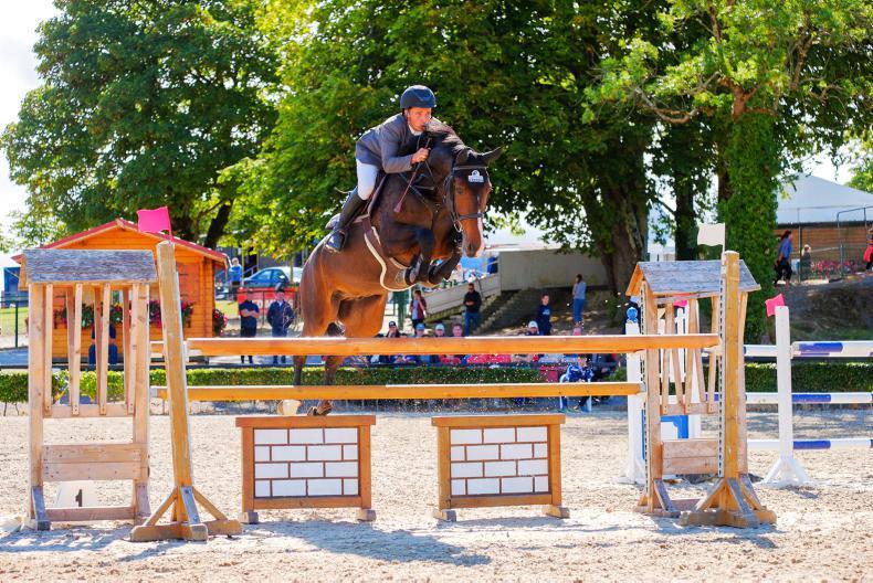 MILLSTREET HORSE SHOW 2018:  Ogara delivers for Hunter
