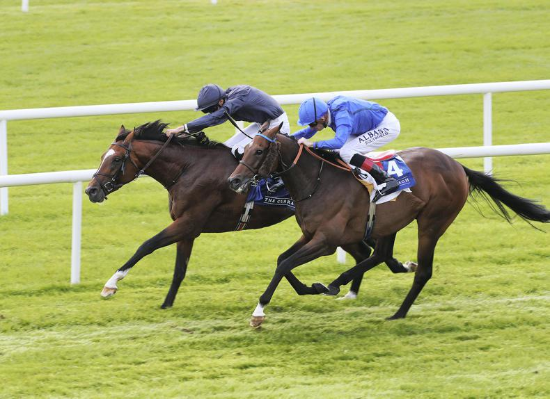 CURRAGH SATURDAY: Ballydoyle bonanza with four-timer