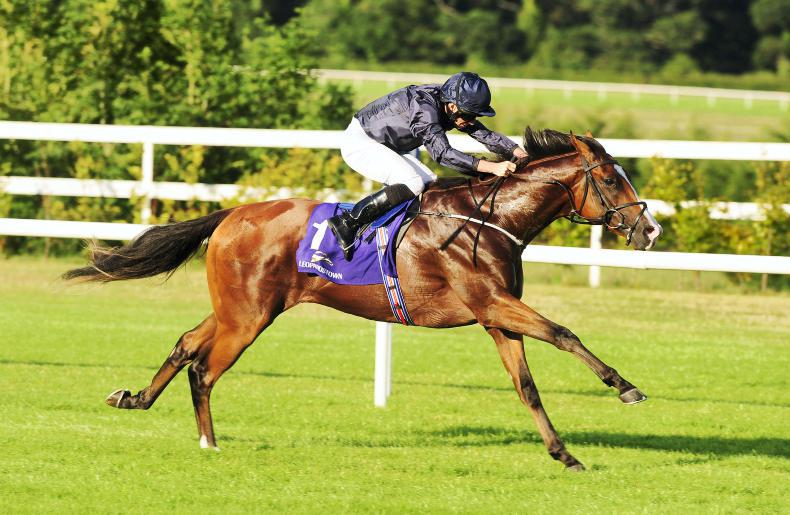 Anthony Van Dyck is picture perfect in Futurity Stakes at Curragh
