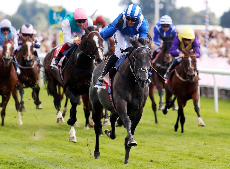 BRITAIN: Muntahaa much the best in Ebor