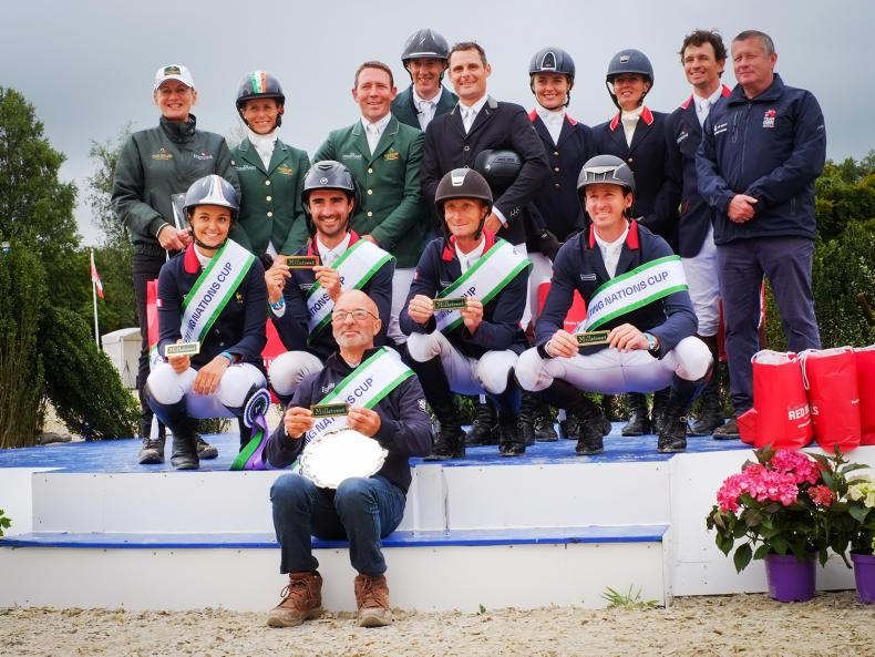MILLSTREET HORSE TRIALS: France win out in new format trial