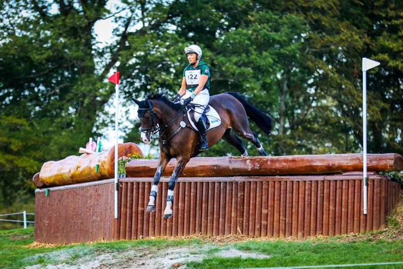 EVENTING:  Ryan replaces injured Clark for World Equestrian Games