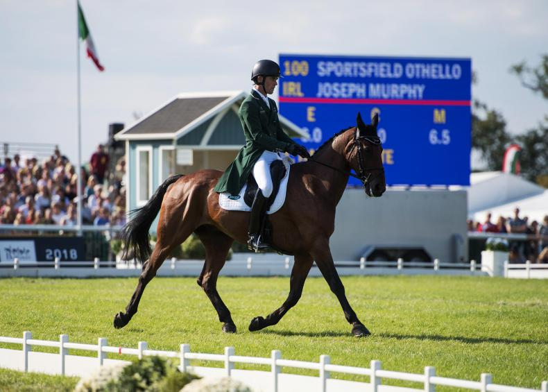 BURGHLEY 2018: Murphy disappointed after dressage