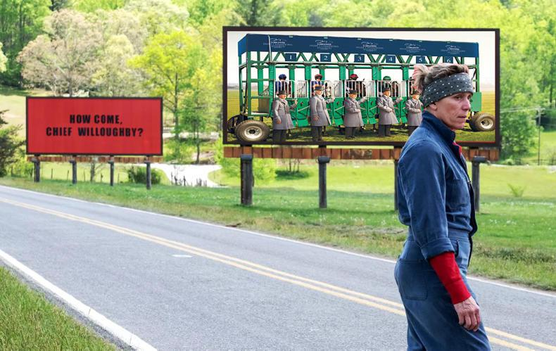 THE WEEK THAT WAS: Three Billboards outside the Curragh, Kildare