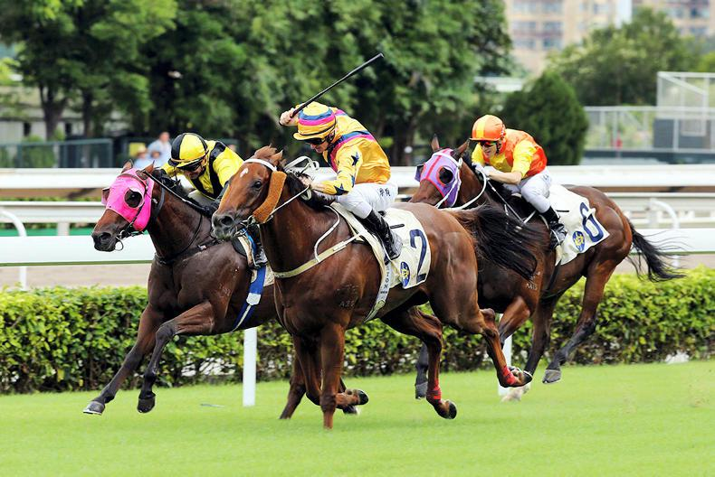 HONG KONG: Purton's Way is a Winner in the HKSAR Chief Executive's Cup