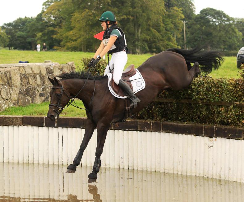 EVENTING:  First win for Sullivan's Bellablue