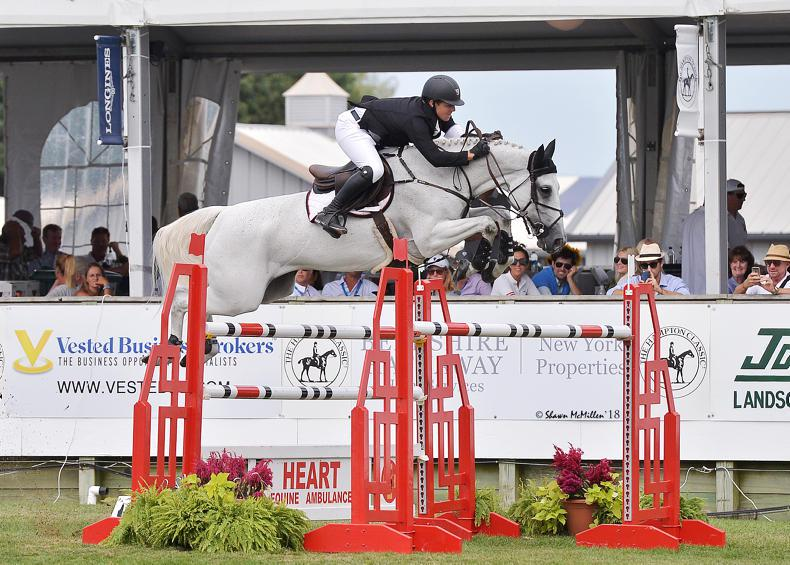 INTERNATIONAL: Sweetnam leading rider at Hampton Classic