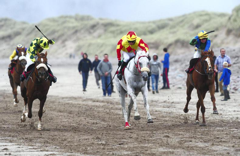 PONY RACING: Golden treble for Byrnes
