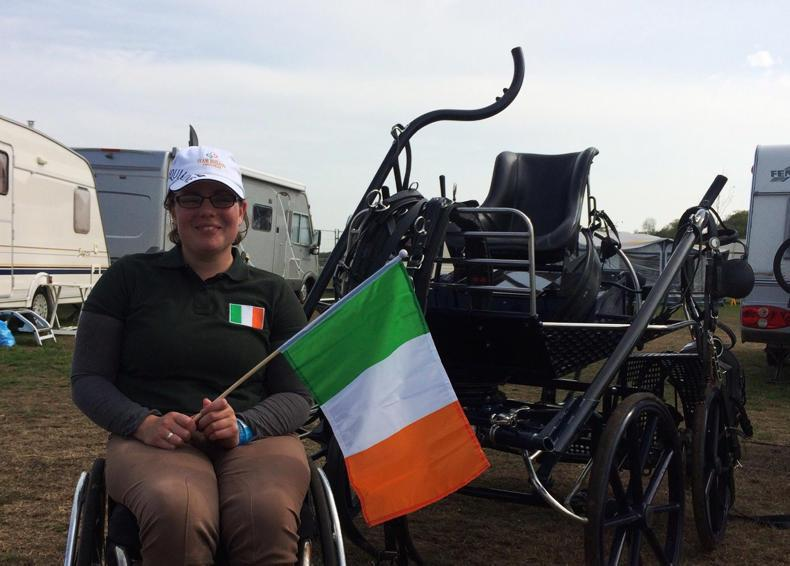 Para driver Emma Golding 10th at world championships