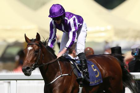 Kew Gardens makes it six of the best for Aidan O'Brien in St Leger at Doncaster