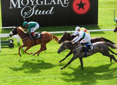 Eziyra continues good work for Dermot Weld in Blandford Stakes