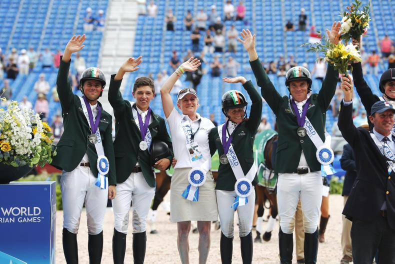 WEG 2018: History as Ireland secure silver in Tryon